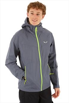 Salewa Puez PTX Men's Powertex 2.5L Jacket, L Grey