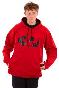 thirtytwo Apex Tech Anorak Technical Snowboard Hoodie, M Red/Black