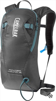 Camelbak Powderhound 12 Ski/Snowboard Backpack, 12L Graphite/Blue