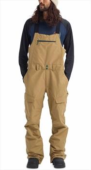Burton Gore-Tex Reserve Bib Ski/Snowboard Pants, M Kelp