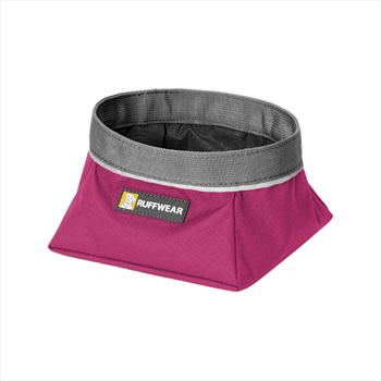 Ruffwear Quencher Dog Water/Food Bowl S Purple Dusk