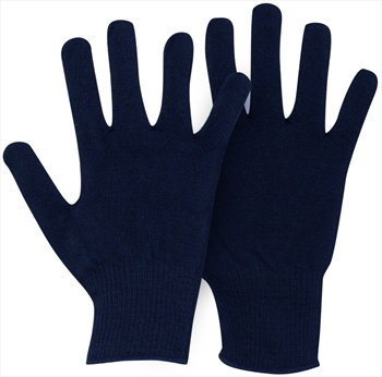 Horizon Verbier Thermolite Thermal Glove Liners Adult's Navy Blue