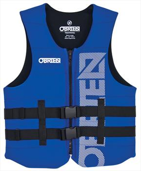 O'Brien Traditional Neo Ski Impact Vest Buoyancy Aid, XS Blue