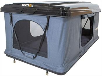 Tentbox Classic Roof Tent Car Camping Roof Pod, 2 Man Grey/Black