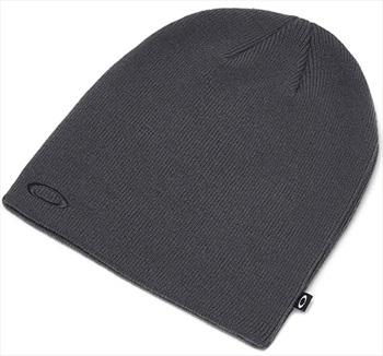 Oakley Fine Knit Snowboard/Ski Beanie Hat, One Size Forged Iron