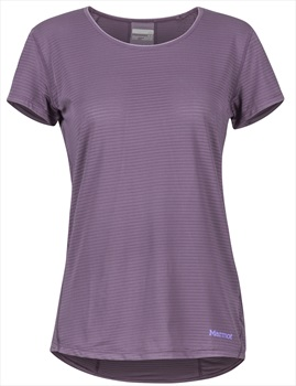 Marmot Aero Women's SS T-Shirt, M Vintage Violet