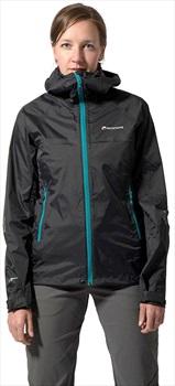 Montane Atomic Mountain Women's Waterproof Shell Jacket, S Black 2020