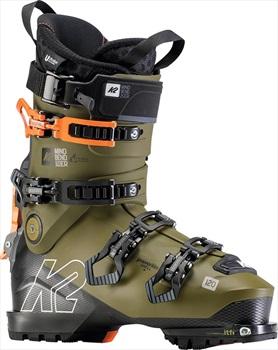 K2 Mindbender Ski Boots, 27/27.5 Olive/Black 2020