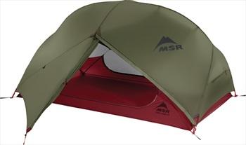 MSR Hubba Hubba NX Tent Lightweight Backpacking Shelter, 2 Man Green