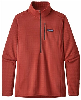 Patagonia R1 Pullover Mid Layer Fleece, XL New Adobe
