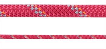 Mammut 8mm Alpine Dry Rope Rock Climbing Rope, 50m X 8mm Pink-Zen