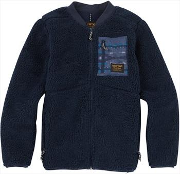 Burton Boy's Grove Fleece Full-Zip Jacket, M Mood Indigo