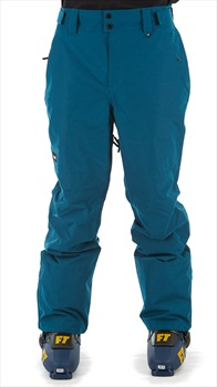 Planks Feel Good Ski/Snowboard Pants, XXL Ocean Blue