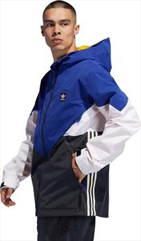 Adidas Premiere Riding Ski/Snowboard Jacket, M Active Blue/Cream White