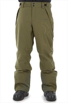 Oakley Cedar Ridge Insulated Snowboard/Ski Pants, XS Dark Brush