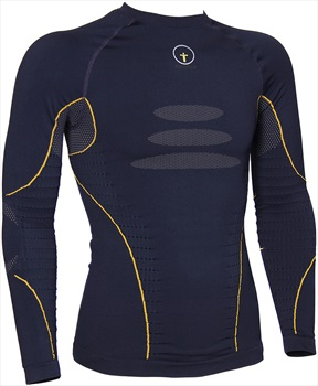 Forcefield Tech 2 Long Sleeve Baselayer Shirt, S Navy