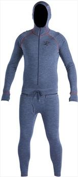Airblaster Merino Ninja Suit Thermal Base Layer, L Navy