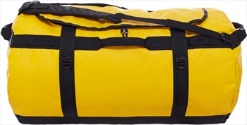 The North Face Base Camp Duffel Travel Bag, 150L Summit Gold/Black