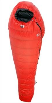 Force 10 Vulcan -7°C LZ 3-Season Camping Sleeping Bag, Regular Lava