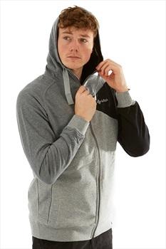 Kilpi Adult Unisex Balto Hooded Sweatshirt - XL, Dark Grey