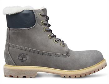 Timberland Womens 6-in Premium Shearling Winter Boots UK 6.5 Dark Grey