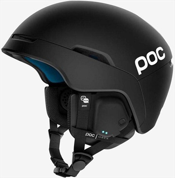 POC Obex Spin Comms Snowboard/Ski Helmet, Xl-XXL Uranium Black