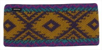 Burton Edgeworth Women's Ski/Snowboard Headband One Size Purple Velvet