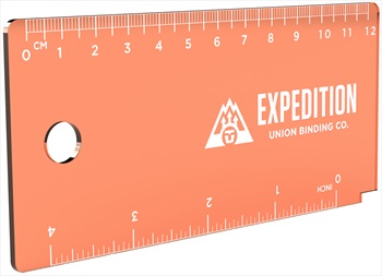 Union Expedition Snowboard/Ski Wax Scraper, 13mm Orange 2020