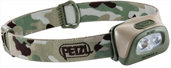 Petzl Tactikka Plus IPX4 Headtorch, 350 Lumens Camo