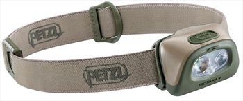 Petzl Tactikka Plus IPX4 Headtorch, 350 Lumens Desert