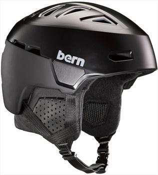 Bern Heist Ski/Snowboard Helmet, L Satin Black