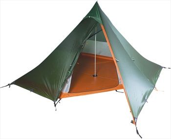 Nigor WickiUp 4 Tipi Ultralight Backpacking Tent, 4 Man Willow Bough