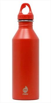 Mizu M8 Stainless Steel Water Bottle, 750ml Fire Orange