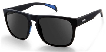 Zeal Capitol Sunglasses Black Matte Dark Grey