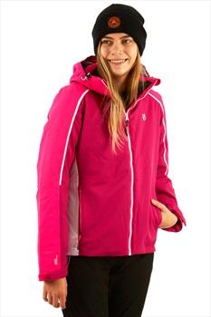 Dare 2b Comity Women's Ski/Snowboard Jacket, S Fuchsia Pink/Cyber Pink