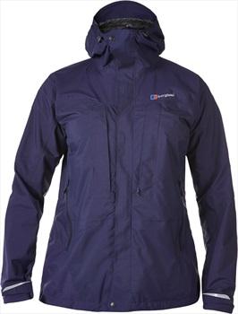 Berghaus Light Trek Hydroshell Women's Waterproof Jacket UK 8 Blue