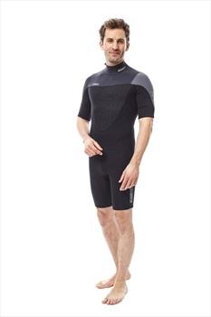 Jobe Perth 3/2mm Men's Shorty Wetsuit, Medium Black Grey 2020