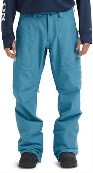 Burton Ballast Pants Gore-Tex Ski/Snowboard Trousers, M Storm Blue