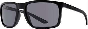 Dragon Melee Smoke Lens Sunglasses, Shiny Black
