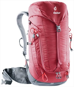 Deuter Mens Trail 22 Hiking Backpack, 22L Cranberry/Graphite