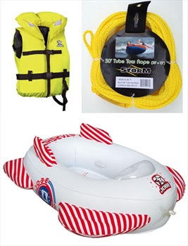 Jobe Youth Series Towable Inflatable Tube Package Starship |3XS-2XS