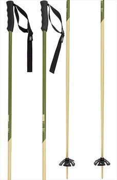 Faction Candide Thovex Pair Of Ski Poles, 125cm Khaki/Beige