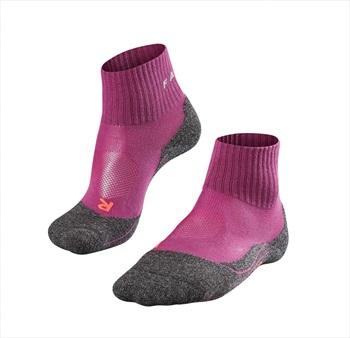 Falke TK2 Short Cool Women's Hiking/Walking Socks UK 2.5-3.5 Wildberry