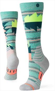 Stance Snow Merino Wool Women's Ski/Snowboard Socks, M Oscillate
