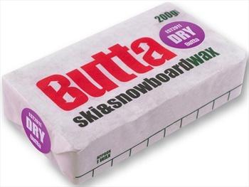 Butta Dry Snowboard Wax, 160-200g Clear