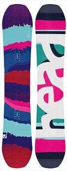 Head Shine Women's Hybrid Camber Snowboard, 142cm 2017