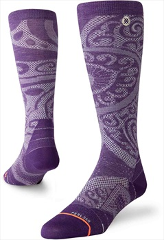 Stance Ultralight Merino Wool Womens Ski/Snowboard Socks, M Illuminate