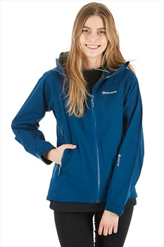 Montane Pac Plus Women's Shell Jacket, UK 16 Narwhal Blue