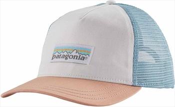 Patagonia Women's P-6 Label Layback Trucker Hat, OS White