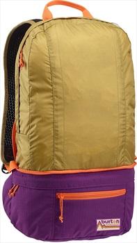 Burton Sleyton Hip Pack Convertible Backpack, 18L Evilo Ripstop